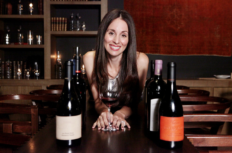 Michelle Reeves of David Family Wines is her own brand ambassador. Photo courtesy of David Family Wines.